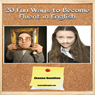 20 Fun Ways to Learn English: Inspired by English (Unabridged), by Zhanna Hamilton