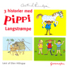 3 historier med Pippi Langstrompe (3 stories with Pippi Longstocking) (Unabridged) Audiobook, by Astrid Lindgren