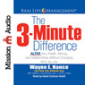 The 3-Minute Difference (Unabridged) Audiobook, by Wayne E. Nance