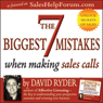 The 7 Biggest Mistakes When Making Sales Calls (Unabridged) Audiobook, by David Ryder