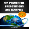 92 Powerful Prepositions and Examples:: Workbook 1 (Unabridged) Audiobook, by Zhanna Hamilton