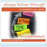 Always Follow Through: Accomplish Your Goals Hypnosis (Self-Hypnosis & Meditation) Audiobook, by Amy Applebaum Hypnosis
