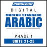 Arabic (Modern Standard) Phase 1, Unit 21-25: Learn to Speak and Understand Modern Standard Arabic with Pimsleur Language Programs Audiobook, by Pimsleur