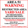 Area 51 Yard Sale (Unabridged) Audiobook, by Will Bevis