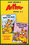 Arthur: Books 3-4 (Unabridged), by Marc Brown