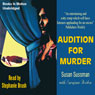Audition for Murder: Morgan Taylor Mysteries (Unabridged) Audiobook, by Susan Sussman