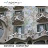 Barcelona - Eixample tour: mp3cityguides Walking Tour (Unabridged) Audiobook, by Simon Harry Brooke