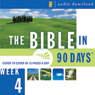 The Bible in 90 Days: Week 4: 1 Samuel 29:1 - 2 Kings 25:30 (Unabridged) Audiobook, by Unspecified