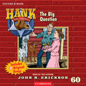 The Big Question: Hank the Cowdog (Unabridged) Audiobook, by John R. Erickson