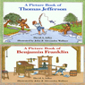A Book of Thomas Jefferson and A Book of Benjamin Franklin (Unabridged) Audiobook, by David A. Adler