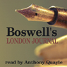 Boswells London Journal Audiobook, by James Boswell