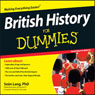British History for Dummies (Unabridged) Audiobook, by Sean Lang