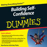 Building Self-Confidence For Dummies Audiobook, by Kate Burton
