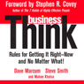 businessThink: Rules for Getting It Right - Now, and No Matter What! Audiobook, by David Marcum