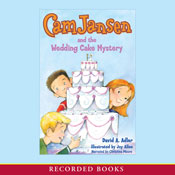 Cam Jansen and the Wedding Cake Mystery (Unabridged), by David Adler