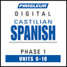 Castilian Spanish Phase 1, Unit 06-10: Learn to Speak and Understand Castilian Spanish with Pimsleur Language Programs Audiobook, by Pimsleur