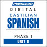 Castilian Spanish Phase 1, Unit 08: Learn to Speak and Understand Castilian Spanish with Pimsleur Language Programs Audiobook, by Pimsleur
