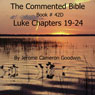 The Commented Bible: Book 42D - Luke (Unabridged) Audiobook, by Jerome Cameron Goodwin