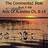 The Commented Bible: Book 44B - Acts of Apostles (Unabridged) Audiobook, by Jerome Cameron Goodwin