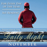 Daily Might: November: A Reading for Each Day in November Audiobook, by Simon Peterson