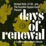 Days of Renewal: A Contemporary Christian Mission Audiobook, by Richard Rohr