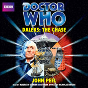 Doctor Who: Daleks - The Chase (Unabridged) Audiobook, by John Peel