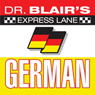 Dr. Blairs Express Lane German, by Dr. Robert Blair
