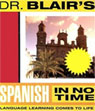 Dr. Blairs Spanish in No Time Audiobook, by Robert Blair