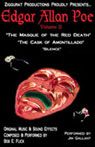 Edgar Allan Poe, Volume II: The Masque of the Red Death, The Cask of Amontillado, and Silence Audiobook, by Edgar Allan Poe