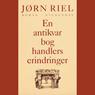 En antikvarboghandlers erindringer (Unabridged), by Jorn Riel