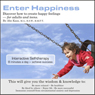 Enter Happiness (Unabridged) Audiobook, by Abe Kass