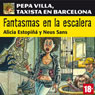 Fantasmas en la escalera. Pepa Villa, taxista en Barcelona (Ghost on the Stairs) (Unabridged) Audiobook, by Alicia Estopina