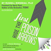 First, Hide the Poison Arrows (Unabridged), by Russell Riendeau