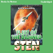 Fleet of the Damned: Sten Series, Book 4 (Unabridged) Audiobook, by Allan Cole