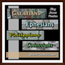 Galatians, Ephesians, Philippians and Colossians KJV (Unabridged), by King James Bible
