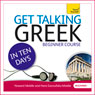 Get Talking Greek in Ten Days Audiobook, by Hara Garoufalia-Middle