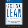 Going Lean: How the Best Companies Apply Lean Manufacturing Principles (Unabridged), by Stephen A. Ruffa