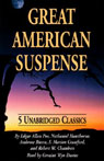 Great American Suspense (Unabridged), by Edgar Allan Poe