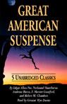 Great American Suspense (Unabridged) Audiobook, by Edgar Allan Poe