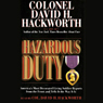 Hazardous Duty Audiobook, by David H. Hackworth