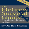 Hebrew Survival Guide Part 1: Speaking Hebrew Is Easy (Unabridged) Audiobook, by Ori Ben Shalom