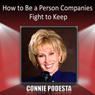 How to Be a Person Companies Fight to Keep Audiobook, by Connie Podesta