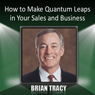 How to Make Quantum Leaps in Your Sales and Business Audiobook, by Brian Tracy