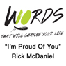 Im Proud of You: 10 Words Audiobook, by Rick McDaniel