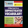 Instant Scholar: A Shortcut to a Sophisticated Vocabulary Audiobook, by Christopher Warnasch