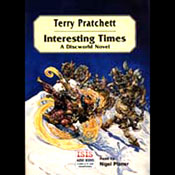 Interesting Times: Discworld #17 (Unabridged) Audiobook, by Terry Pratchett