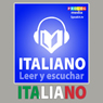Italiano - Libro de frases (Italian - Phrasebook): Leer y escuchar (Read and listen) (Unabridged) Audiobook, by PROLOG Editorial