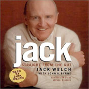 Jack: Straight from the Gut (Unabridged) Audiobook, by Jack Welch