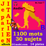 Je parle Italien  (avec Mozart) - Volume Basic  (Italian for French Speakers) (Unabridged) Audiobook, by 01mobi.com