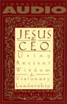 Jesus, CEO: Using Ancient Wisdom for Visionary Leadership Audiobook, by Laurie Beth Jones